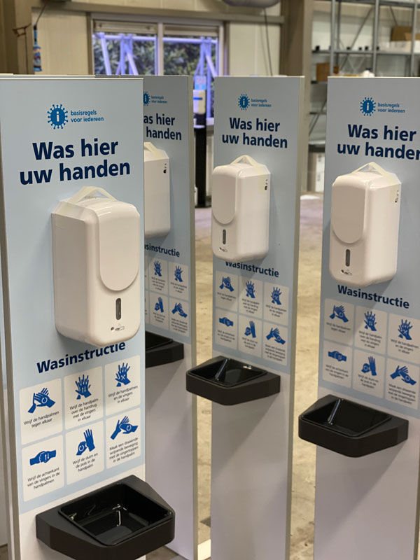 desinfectiezuil Clean and go Point